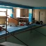 Construction of Luxury Interior Pool Area 01