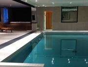 Luxury Interior Pool Area