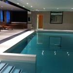 Luxury Interior Pool Area 01
