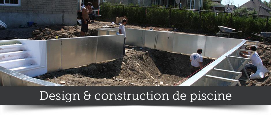 Design et construction de piscine