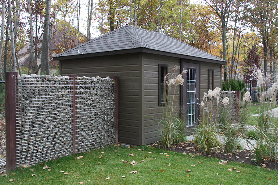Gabion La Solution Moderne Montreal Outdoor Living