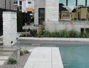 Modern Low Maintenance Landscaping with Pool 01