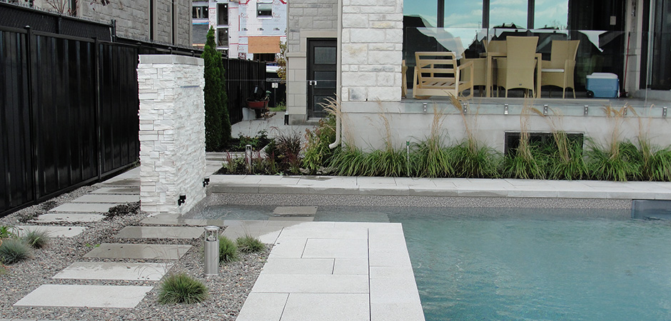 Design D Un Am Nagement Paysager Contemporain Montreal Outdoor Living