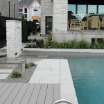 Modern Low Maintenance Landscaping with Pool 07