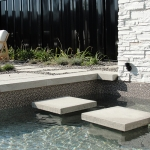 Modern Low Maintenance Landscaping with Pool 010