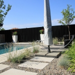 Modern Low Maintenance Landscaping with Pool 015