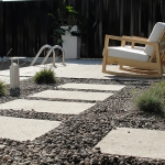 Modern Low Maintenance Landscaping with Pool 016