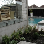 Modern Low Maintenance Landscaping with Pool 019