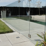 Modern Low Maintenance Landscaping with Pool 012