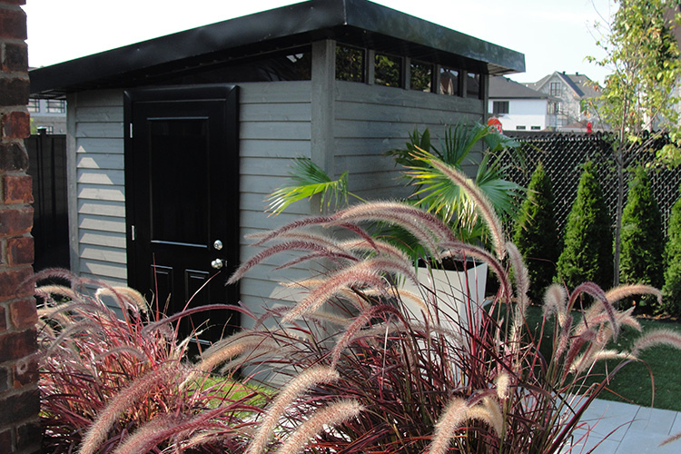 Modern Shed Montreal Outdoor Living