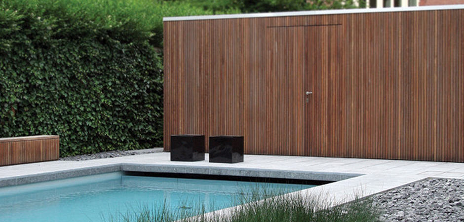 Modern outdoor patio furniture - Modern Shed Montreal Outdoor Living