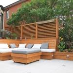 Modern decking Montreal 14