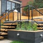 Modern decking Montreal