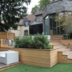 Urban Backyard Patio & Terrace 02