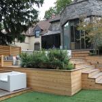 Urban Backyard Patio & Terrace 02
