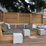 Urban Backyard Patio & Terrace 04