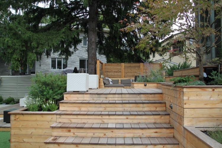 patio pierre naturelle id es de. Black Bedroom Furniture Sets. Home Design Ideas