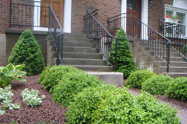Montreal Outdoor Living Modern Patio Landscaping In Outremont