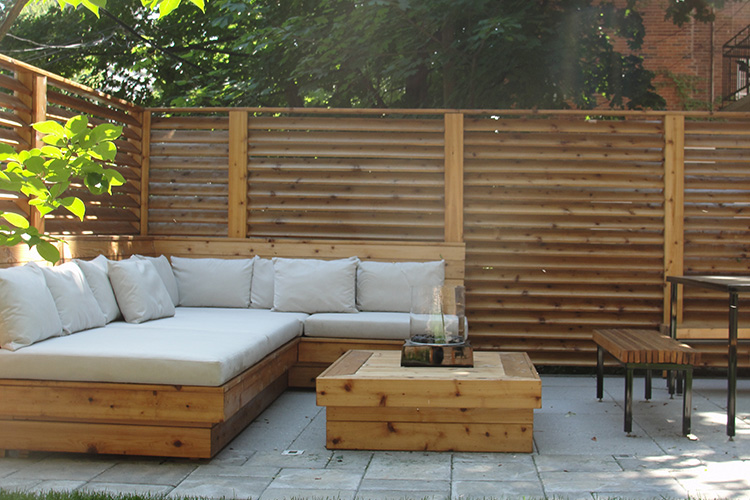 Modern patio landscaping in outremont montreal outdoor - Photo de terrasse moderne ...