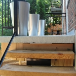 Modern Patio Landscaping In Outremont Montreal Outdoor Living