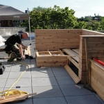 Construction Rooftop Garden Outdoor Living 08