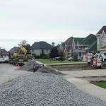 Construction of Stunning Ile Bizard Garden 02