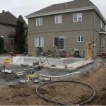 Construction of Stunning Ile Bizard Garden 03
