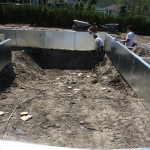 Construction of Stunning Ile Bizard Garden 04