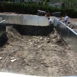 Construction of Stunning Ile Bizard Garden 04