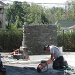 Construction of Stunning Ile Bizard Garden 06