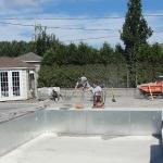 Construction of Stunning Ile Bizard Garden 07