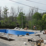 Construction of Stunning Ile Bizard Garden 08