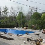 Construction of Stunning Ile Bizard Garden 08