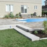 Construction of Stunning Ile Bizard Garden 09