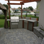 Contemporary Outdoor Kitchen 02