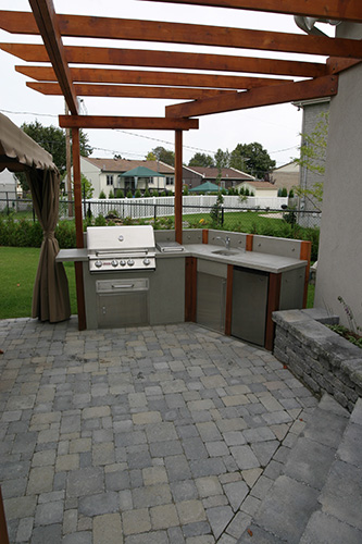 Une Cuisine Contemporaine 224 L Ext 233 Rieur Montreal Outdoor