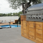 Contemporary Outdoor Kitchen 04