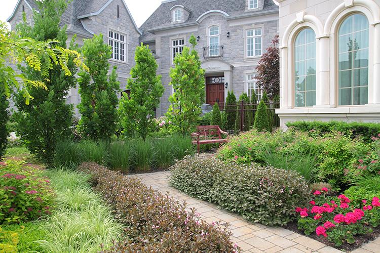 Modern Home Garden Improvement Montreal Outdoor Living