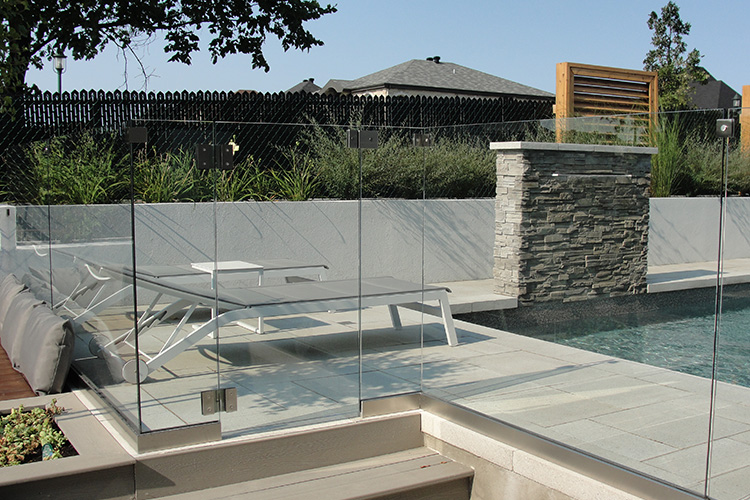 Glass Pool Fence Montreal Outdoor Living