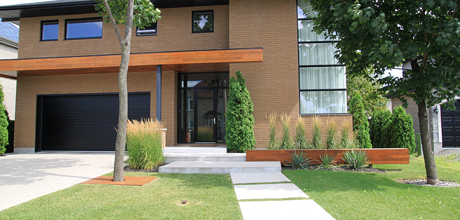 Outdoor living montreal outdoor living for Amenagement paysager moderne