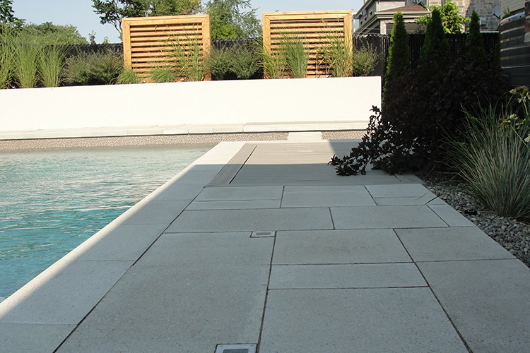 PatioTiles Modern Pool Deck Tiles Montreal Outdoor Living