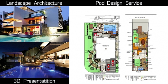 Pool Sesign Service in Montreal