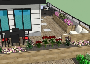 Rooftop & Deck Design Service 07