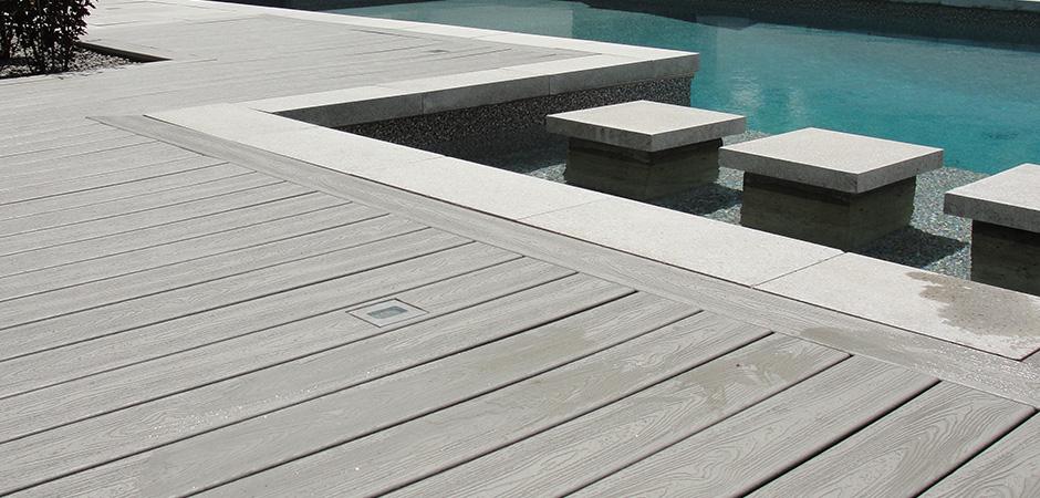 Composite Wood Pool Decking