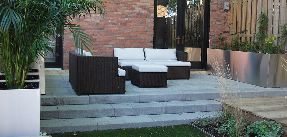 Urban Backyard Ideas : Modern Backyard Design Ideas  Montreal Outdoor Living