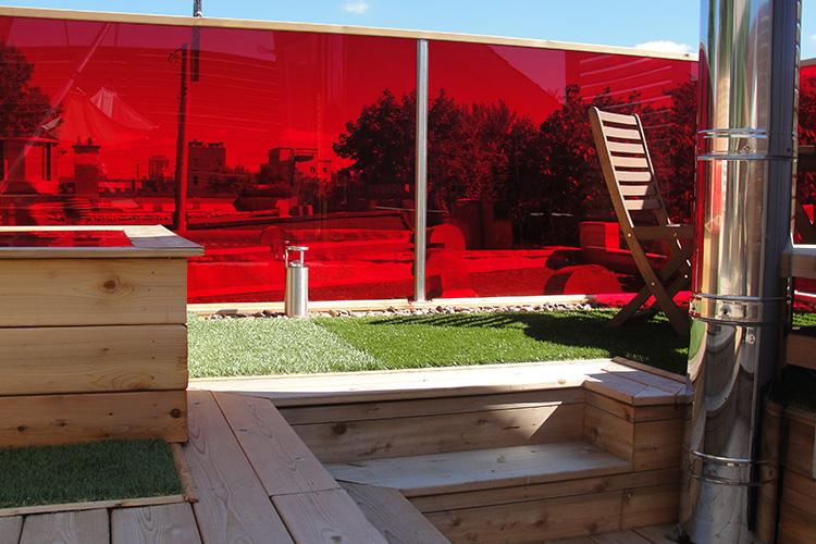 Outstanding Urban Rooftop Terrace - Montreal Outdoor Living on Urban Living Outdoor id=75001