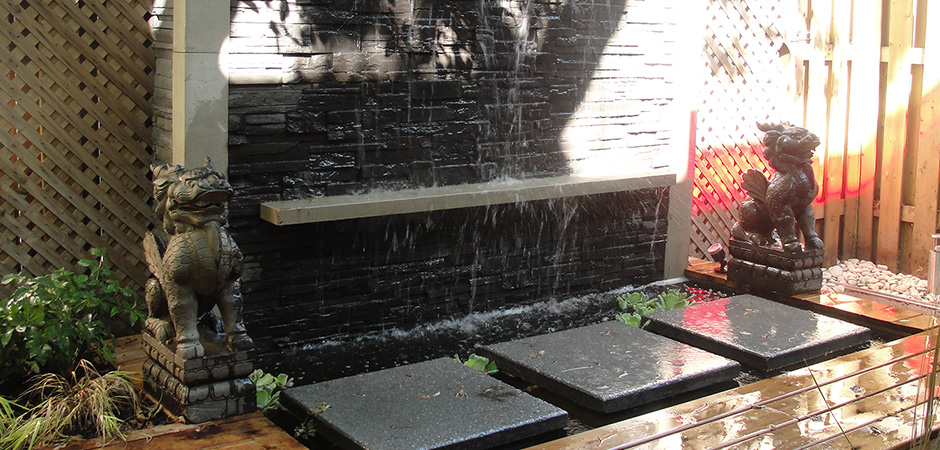 Water Feature Montreal Outdoor Living