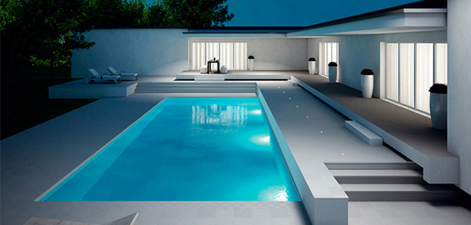 Modern Pool Coping