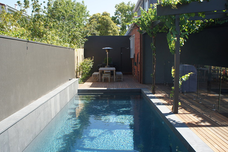 Montreal Outdoor Living Minimalist Modern Pool Ideas