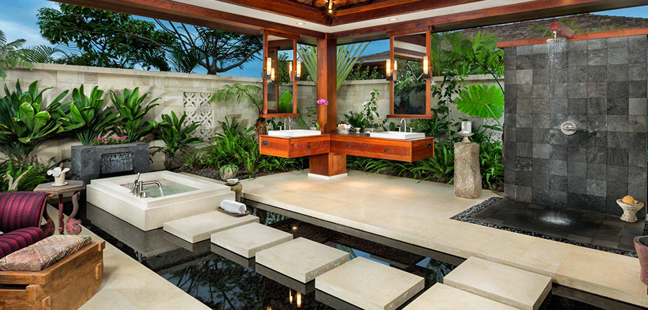 Modern Outdoor Bathroom Montreal Outdoor Living Mesmerizing Outdoor Living Room Design